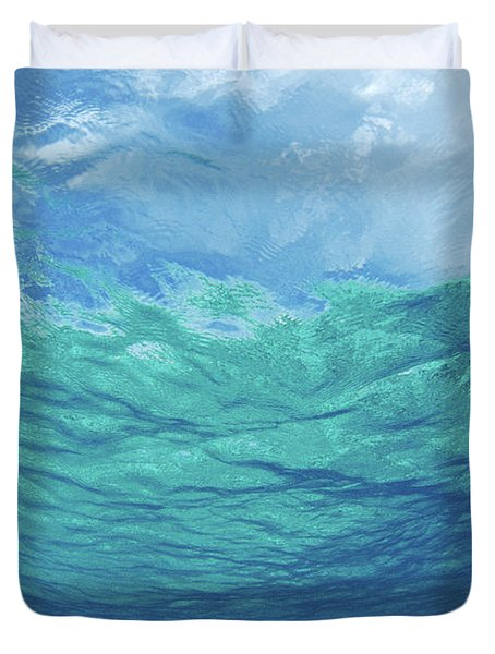 Upward To Surface Duvet Cover by Don King - Printscapes