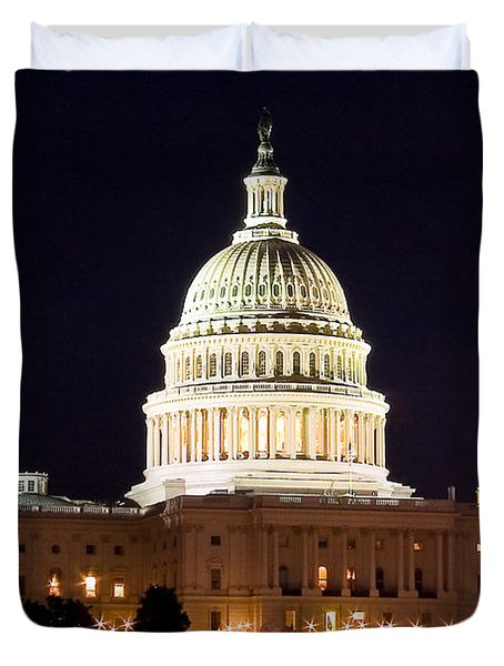 Us Senate Duvet Cover by Syed Aqueel