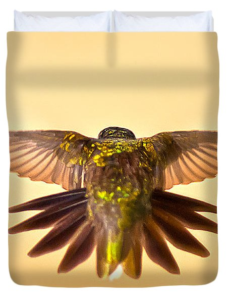 Duvet Cover featuring the photograph Usaf Hummingbirds Wings by Randall Branham