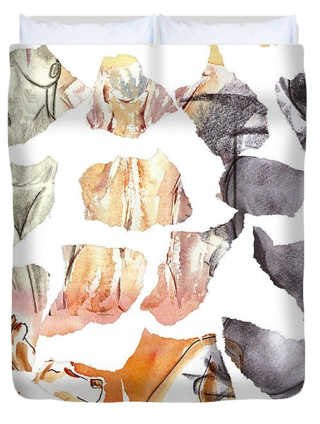 Vague Memories Duvet Cover by Michal Boubin