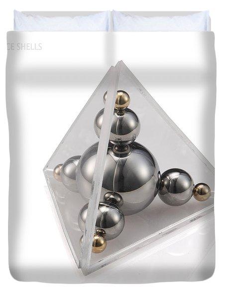 Valence Shells Duvet Cover