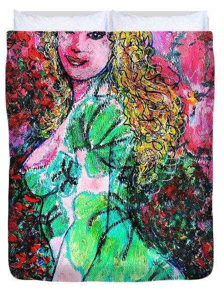 Valentina 2 Duvet Cover by Natalie Holland