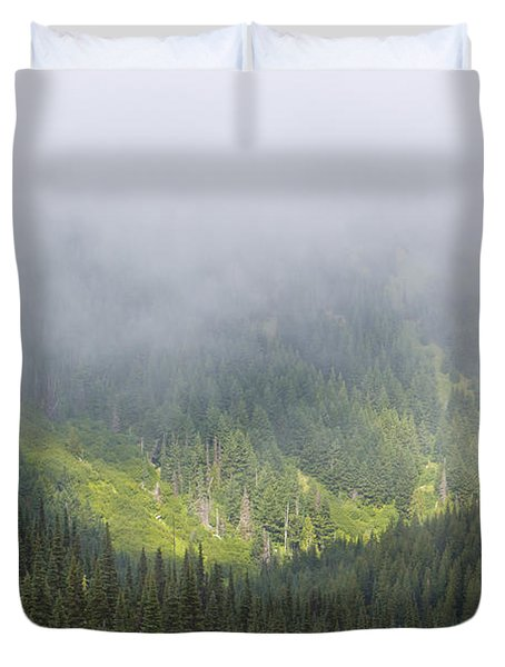 Valley Light Duvet Cover by Heidi Smith