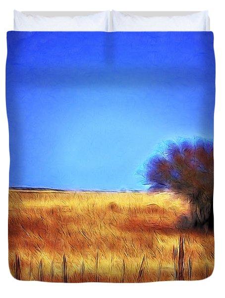 Valley San Carlos Arizona Duvet Cover