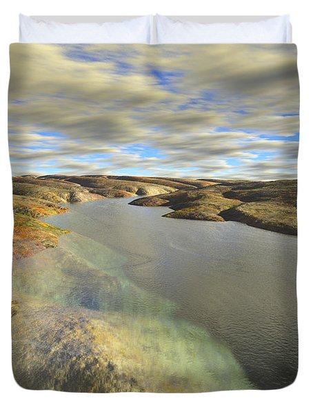 Valley Stream Duvet Cover
