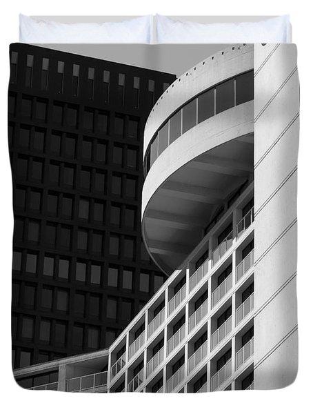 Vancouver Architecture Duvet Cover by Chris Dutton