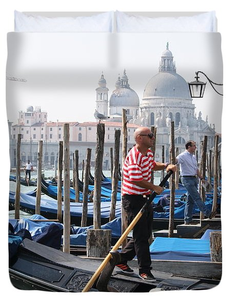 Venice Duvet Cover by Mary-Lee Sanders
