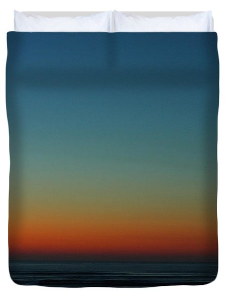 Venus And Atlantic Before Sunrise Duvet Cover