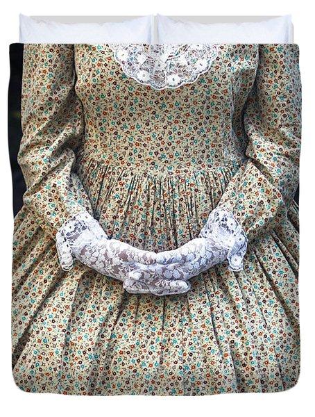 Victorian Lady Duvet Cover by Joana Kruse