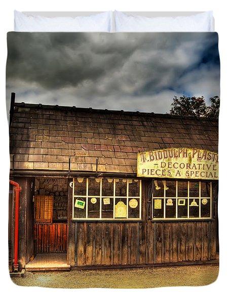 Victorian Shop Duvet Cover