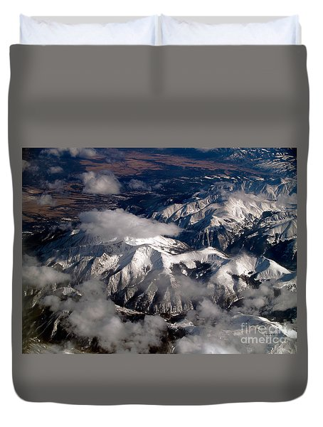 View From Above IIi Duvet Cover by Patricia Griffin Brett