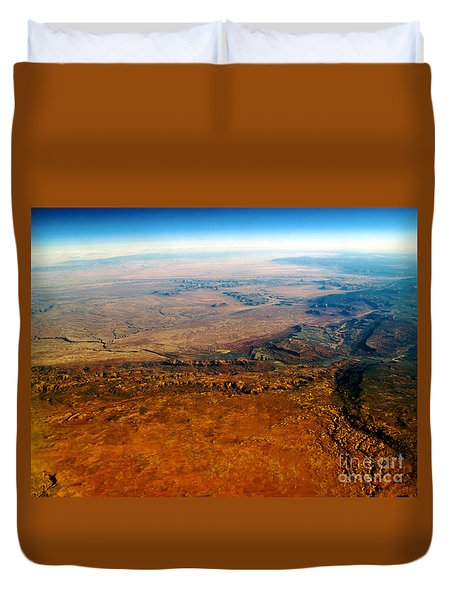 View From Above Vi Duvet Cover by Patricia Griffin Brett