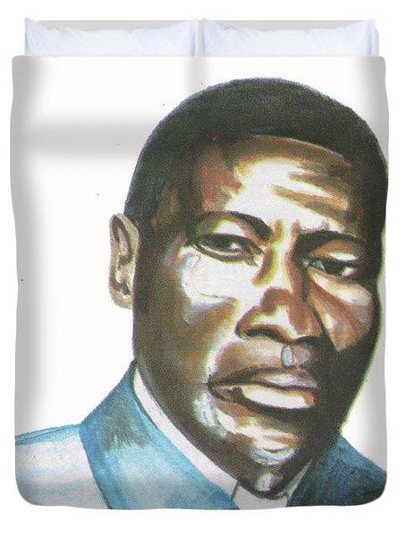 Vincent Mulago Duvet Cover by Emmanuel Baliyanga