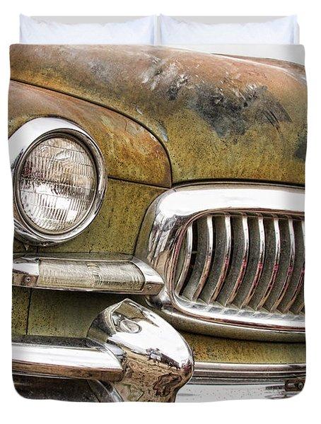 Vintage 1951 Nash Ambassador Front End 2 Duvet Cover by James BO  Insogna