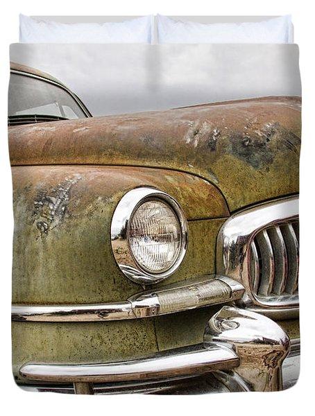 Vintage 1951 Nash Ambassador Front End Duvet Cover by James BO  Insogna