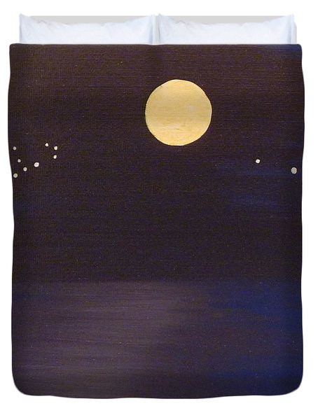 Virgo And Aries Duvet Cover by Alys Caviness-Gober