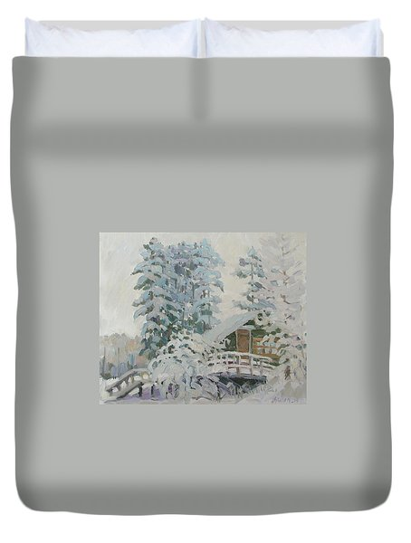 Visiting Fairy Tales Duvet Cover
