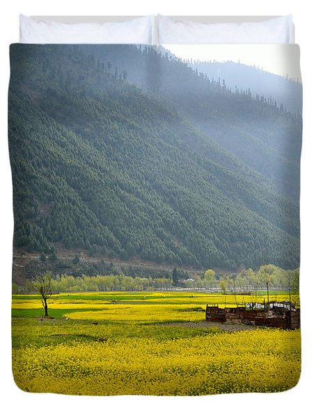 Visual Treat Duvet Cover by Fotosas Photography