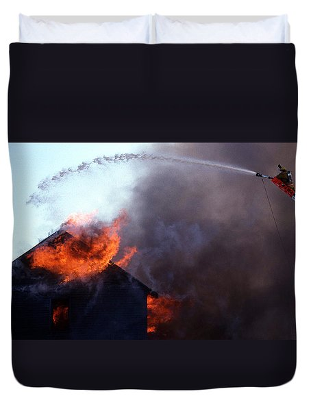 Volunteer Duvet Cover by Skip Willits