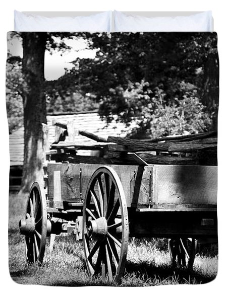 Wagon Duvet Cover
