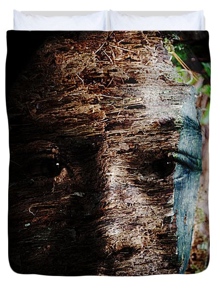 Waldgeist Duvet Cover by Christopher Gaston