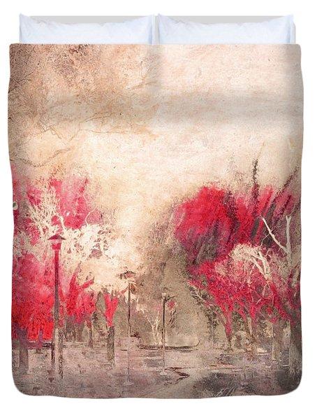 Walk Me Into Yesterday Duvet Cover by Tara Turner