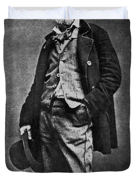 Walt Whitman, American Poet Duvet Cover