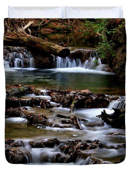 Warm Springs Duvet Cover by Karen Harrison