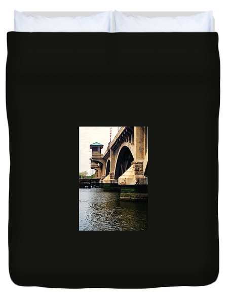 Washington Bridge Duvet Cover