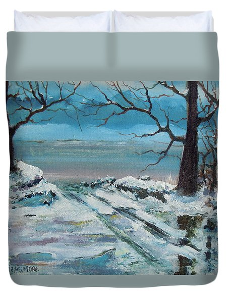 Washoe Winter Duvet Cover