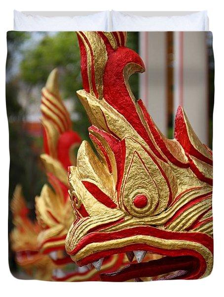 Wat Chalong 3 Duvet Cover