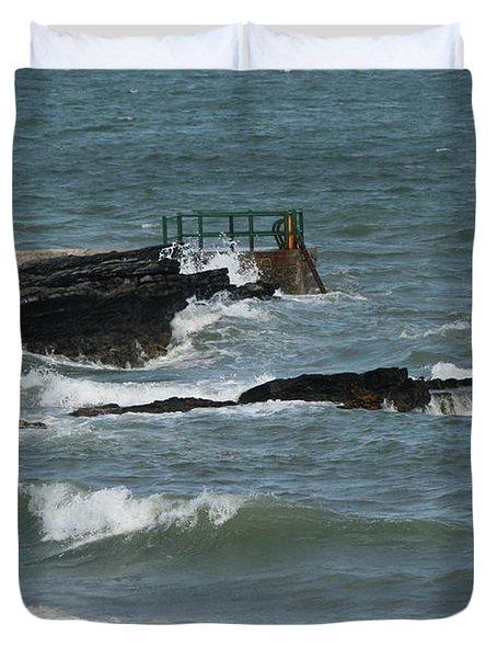 Water 0002 Duvet Cover by Carol Ann Thomas