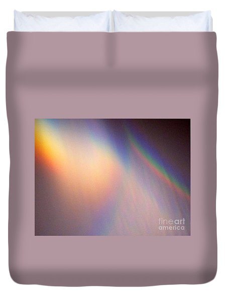Water Rainbow Duvet Cover by Phyllis Kaltenbach