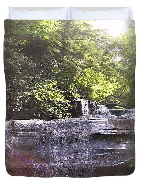 Waterfall Duvet Cover by Kelly Hazel