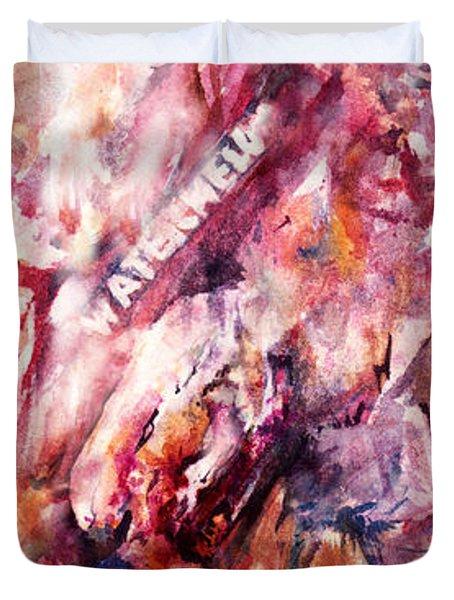 Watermelon Duvet Cover by Rachel Christine Nowicki