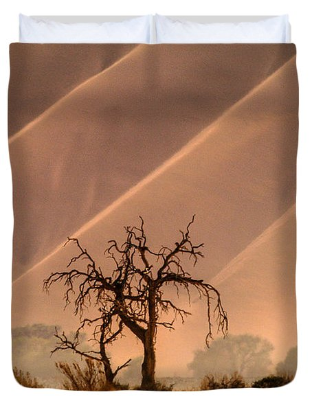 Wave Tree Duvet Cover