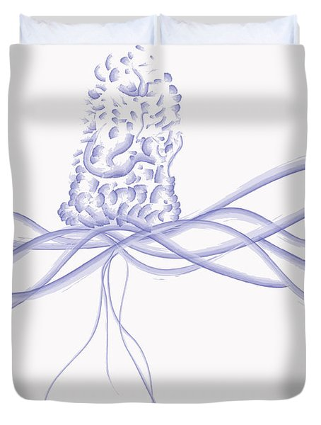Waveflower Duvet Cover