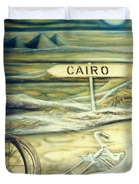 Way To Cairo Duvet Cover