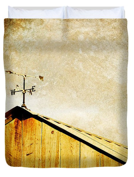 Weathervane Duvet Cover by Joan McCool