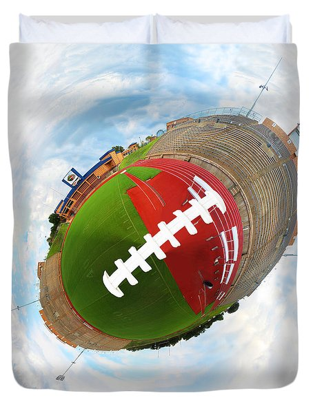 Wee Football Duvet Cover by Nikki Marie Smith
