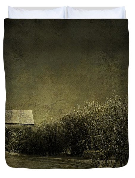 Well Come In Duvet Cover by Empty Wall