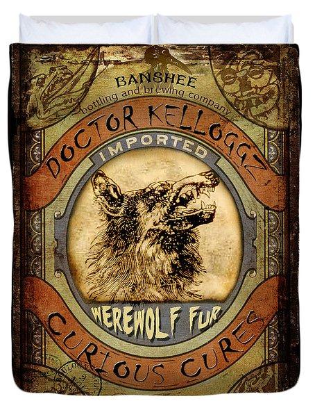 Werewolf Fur  Duvet Cover