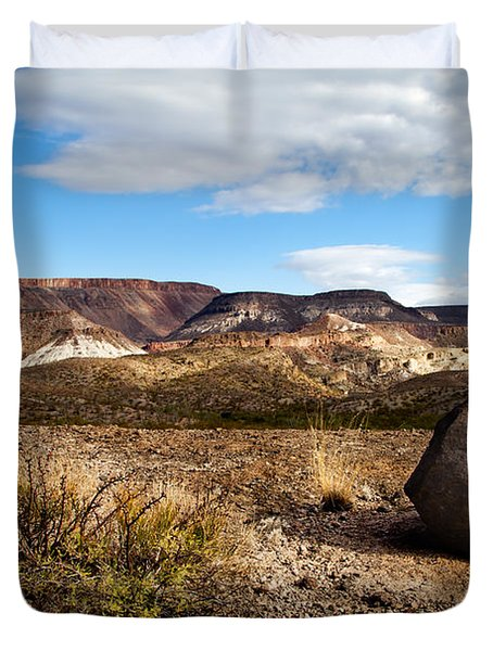 West Texas Duvet Cover