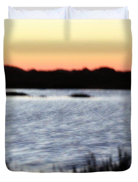 Duvet Cover featuring the photograph Wetland by Henrik Lehnerer