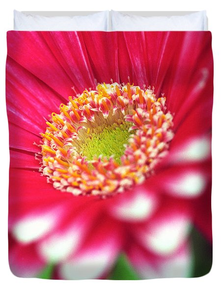 What A Daisy Duvet Cover by Kathy Yates
