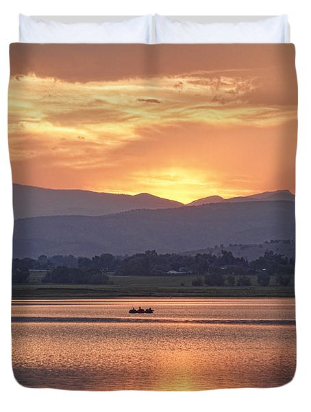 What A View Duvet Cover by James BO  Insogna