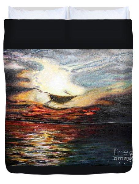 What Dreams May Come.. Duvet Cover by Jolanta Anna Karolska