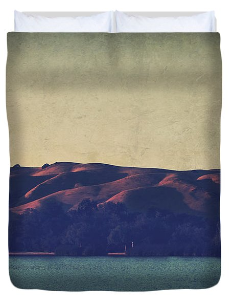 What The Shadows Hide Duvet Cover by Laurie Search