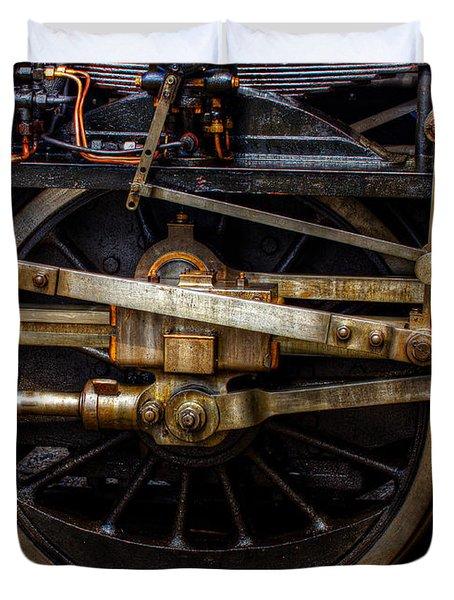 Wheel Duvet Cover by Gert Lavsen