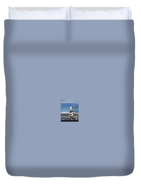 When My Ship Comes In Duvet Cover by Jan VonBokel